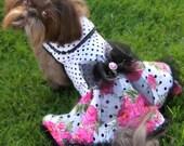 SUMMER:  Garden Rose Party Dog Dress