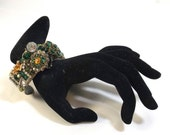 Vintage Assemblage Cuff Bracelet