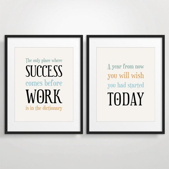 Office Motivational Posters