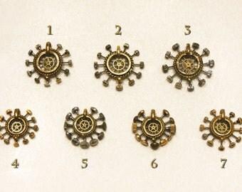 Steampunk Clockwork Pendant