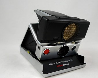 Polaroid SX-70 Sonar One Step Land Camera TESTED and Working