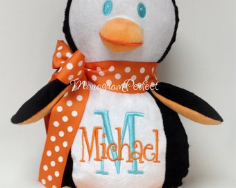 Michael - ALREADY PERSONALIZED Plush Penguin Soft Toy