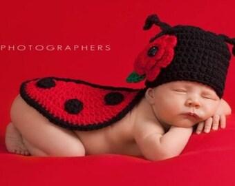 Ladybug Crochet Pattern, Crochet Ladybug, Ladybug Pattern, Easy Crochet Pattern, Beginner Crochet Pattern, Crochet Beginner Pattern