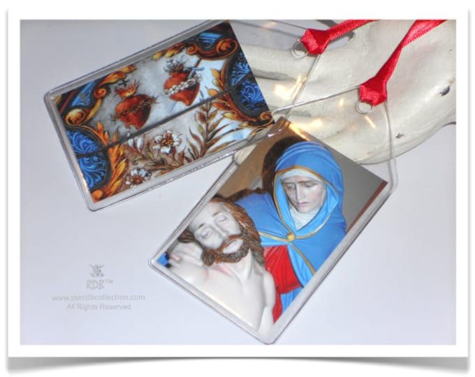 Sacred Hearts & Pieta Tags