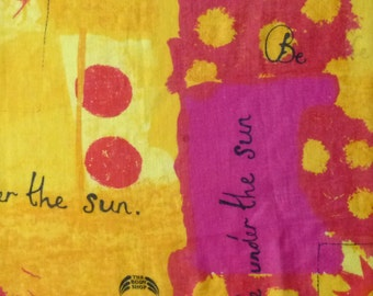 Iconic 1990s Body Shop 'Safe Under the Sun' scarf