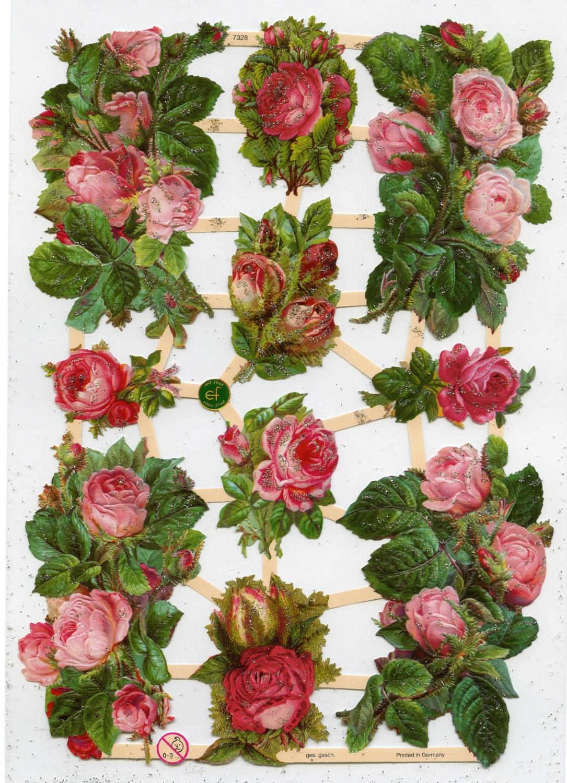 rose scrap reliefs  roses scrap reliefs  rose die cuts Baggage Clip Art Airplane Clip Art