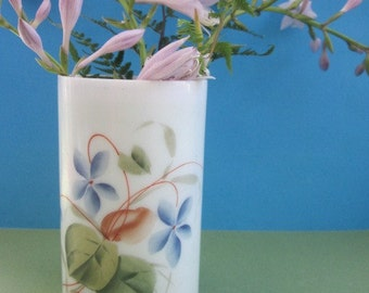 Violet Bristol Glass Vase