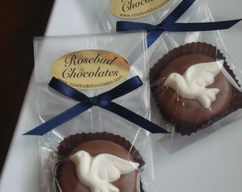 12 Chocolate Dove Oreo Cookies Wedding Anniversary Party Favors Candy Dessert Bird
