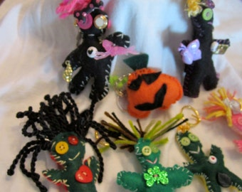 Voodoo Doll Keychains