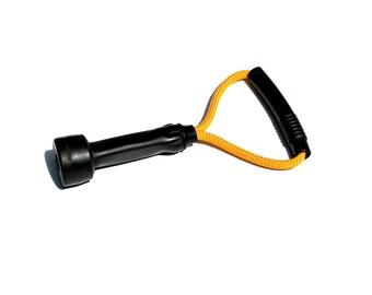 Yellow Mootug Dog Toy / Upcycled Cow Milking Tube Tug of War Dog Toy / Gift Idea Dog Lovers