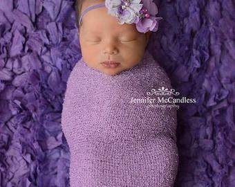 Lavender Baby Headbands, Newborn Headband, Baby Headbands, Infant Headbands, Headbands for Babies, Headbands for Baby, Babies Headbands
