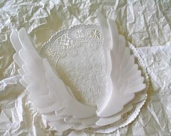 Sheer Angel Wings, Transparent Vellum