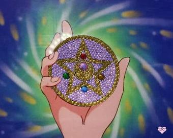 Sailor Moon Rhinestone Barrette