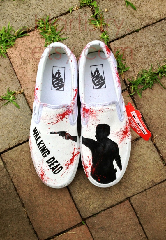 Daryl Dixon Converse Shoes