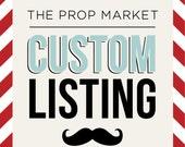 Custom Listing: nmorr3
