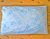 Vintage Blue Floral Pillowcase