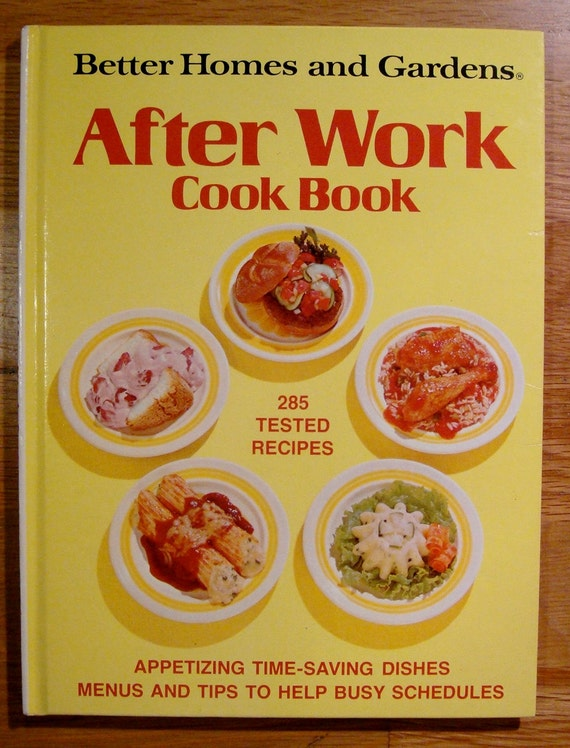 Items Similar To After Work Cook Book 1978 Recipe Book