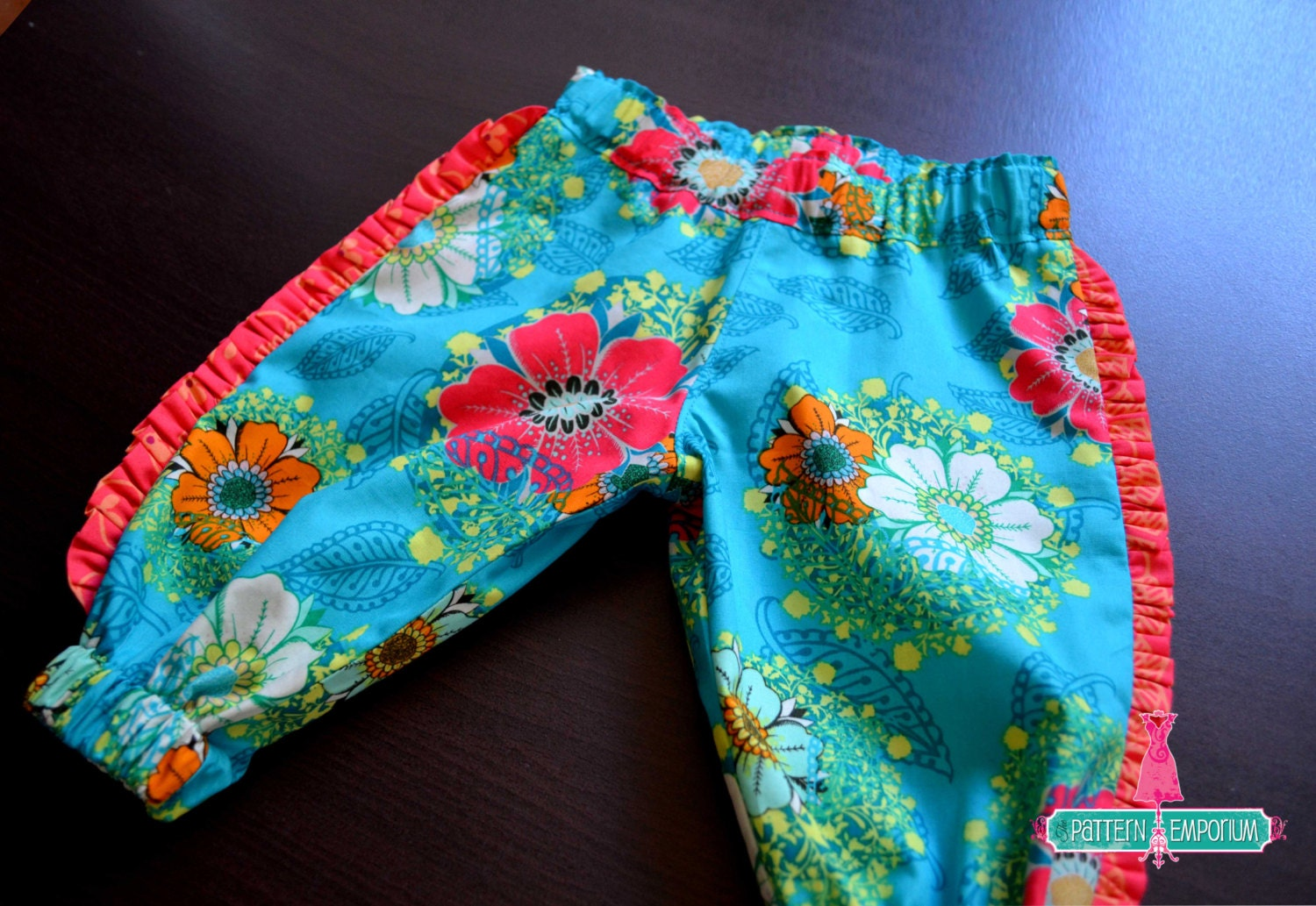 Pattern Baby Amp Toddler Harem Pants Pdf Pattern Sewing