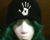 Skyrim Inspired Dark Brotherhood beanie skull cap