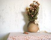 Soviet Design Vintage Vase, Elegant interior Decor, Beautiful Clay Vase
