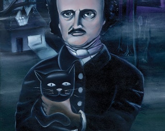 Poe (Fine Art Print)