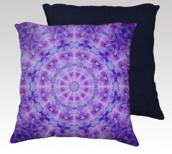 Lavender Purple Pillow Cover Decorative Throw Pillow Case