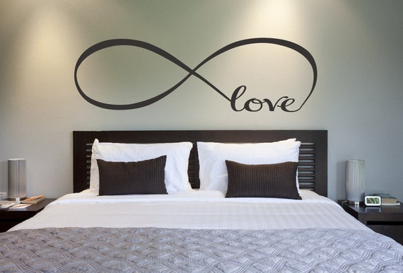 Symbol Bedroom Wall Decal Love Decor Love Bedroom Decor Home Decor