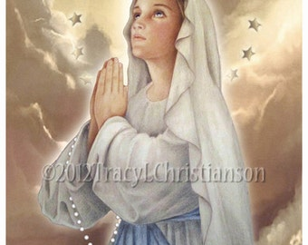The Immaculate Conception, Virgin Mary Art Print #4021
