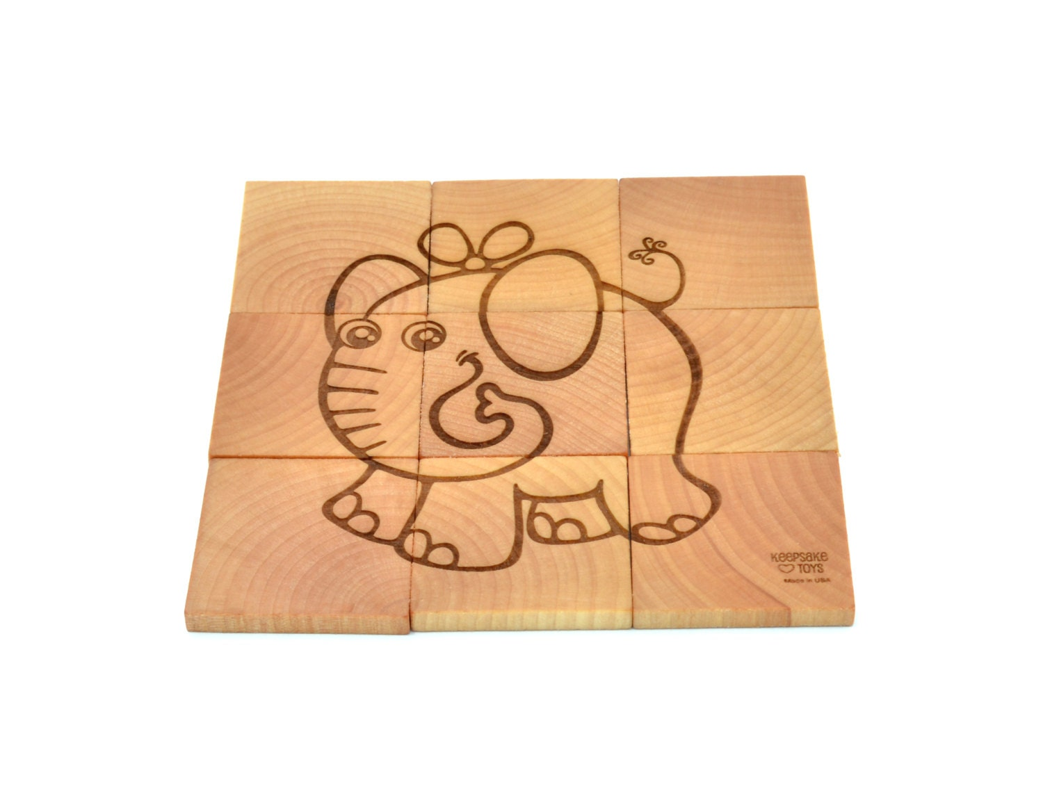 Wooden Puzzle Wooden Toy for Toddler or Preschooler Gift Wooden Toddler Puzzle