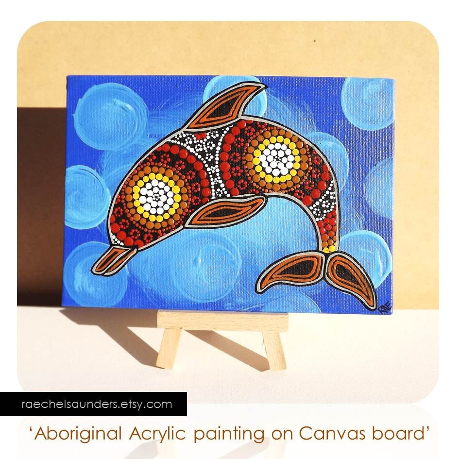 how to make a modern aboriginal dot painting how to