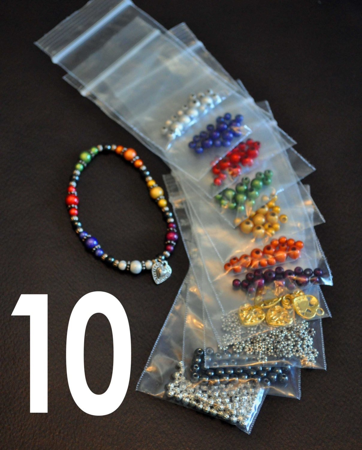 10 KITS Young Womens Value Bracelet