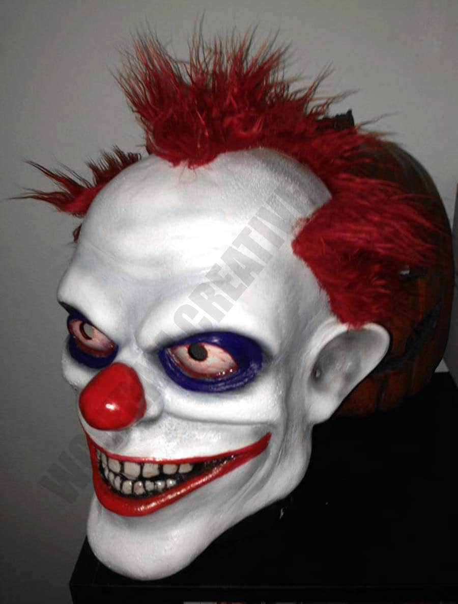 Everything Floats with Clowki the Evil Clown Mask 3/4 head