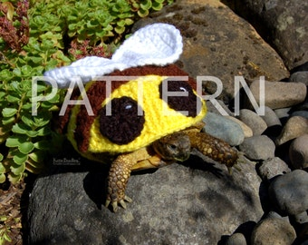 PATTERN for Bumblebee cozy for tortoises
