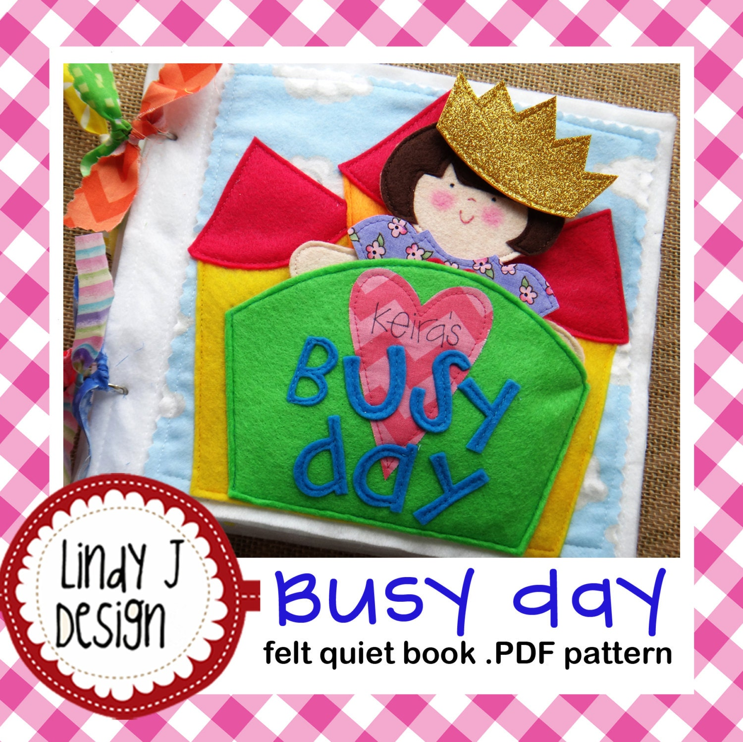 Busy day quiet book felt paper doll pdf pattern from busy day quiet book felt paper doll pdf pattern pronofoot35fo Choice Image