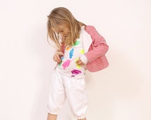 Mina girls BLAZER pattern - toddler jacket pattern pdf - from 2 to 7 years