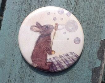 Pocket Mirror // Norman the Rabbit