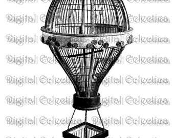 Antique Birdcage Engraving. Birdcage PNG. Birdcage Prints. Birdcage Images. Birdcage Pictures. Birdcage Clipart. Vintage Birdcage. No. 0068.