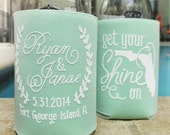 Custom Southern State Can Cooler Beer Cozy