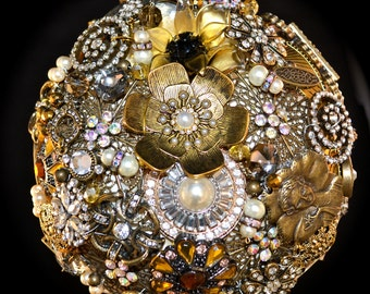 Assembly Service for your DIY Brooch Bouquet Kit, wedding bouquet, bridal bouquet, bridal brooch