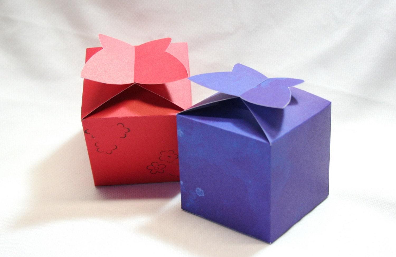 diy box gift box paper box box template printable gift box