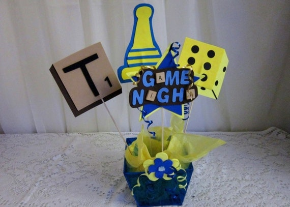 Items Similar To 4 Game Night Centerpiece Spikes