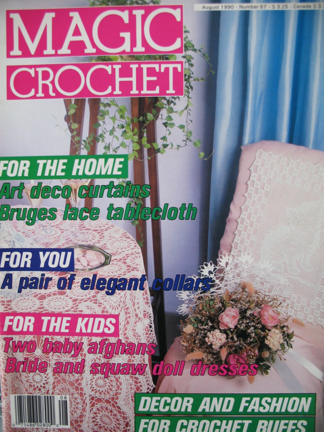 Magic Crochet Magazine Crochet Pattern Book by SewCreativePatterns