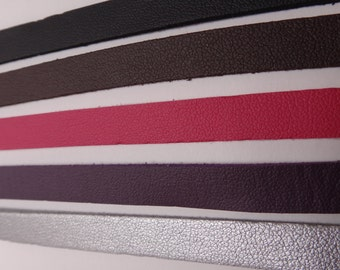 Faux Leather & Suede Strips