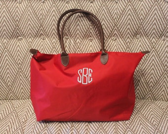 Monogrammed Tote Bag | Weekender Bag | Monogrammed Duffle Bag | Monogrammed Purse | Personalized Bag | Monogram Gift | Gifts for her