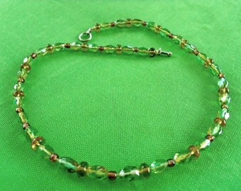 Vintage Beaded Necklace (Item 314)