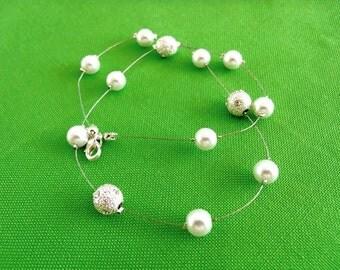 Vintage Bead Necklace (Item 411)