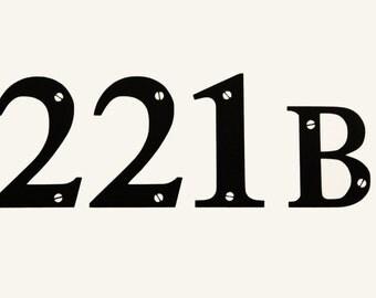 Sherlock Holmes 221B Baker Street Vinyl Decal