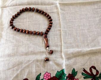 Prayer Beads made from Buxaceae Tree