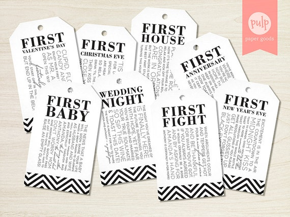 Wedding Shower Gift Basket Poem : Bridal Shower Wine Tags with Poems for Wedding Shower Wine Gift Basket ...