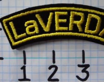 "Vintage ""LaVerda"" Motorcycle Patch (001)"